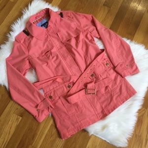 Tommy Hilfiger Coral Trench Coat